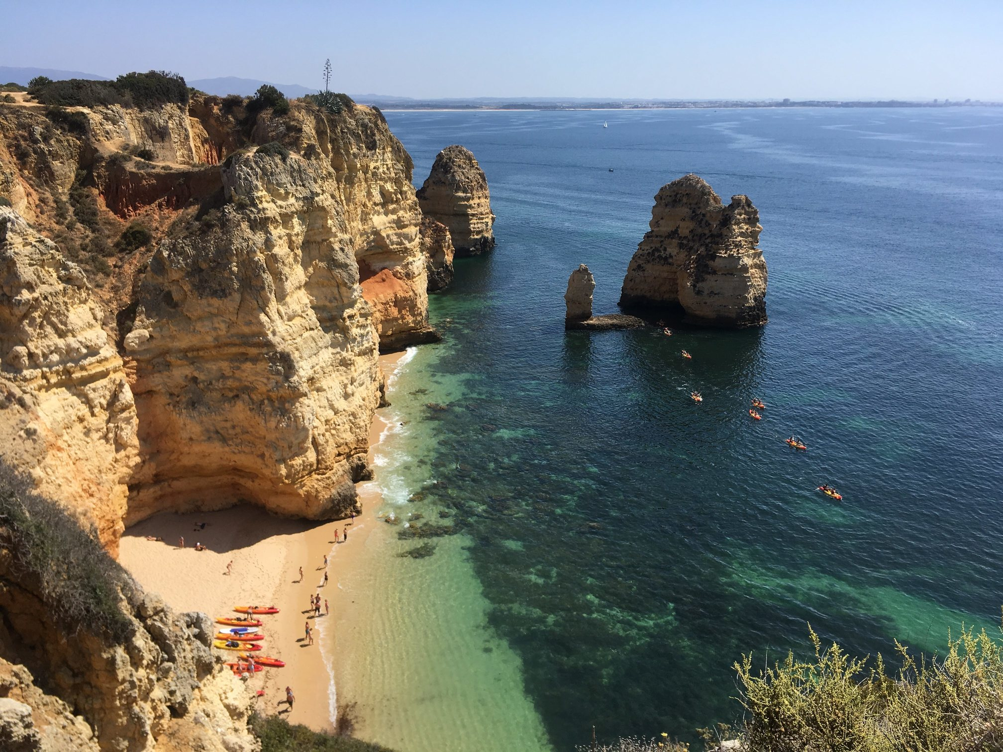 Algarve Küste in Portugal